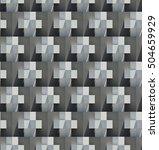 3d geometric pattern seamless | Shutterstock . vector #504659929