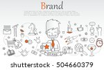 vector creative illustration of ... | Shutterstock .eps vector #504660379