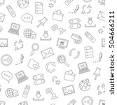 internet icons handmade style