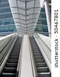 detail of escalator stairs at a ... | Shutterstock . vector #50467801