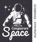 astronaut vector illustration. | Shutterstock .eps vector #504688225