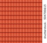 roof tile seamless pattern for... | Shutterstock .eps vector #504700615