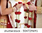 amazing hindu wedding ceremony. ... | Shutterstock . vector #504729691