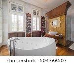 bathroom interior   Shutterstock . vector #504766507