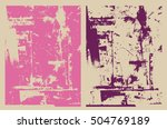 abstract grunge background | Shutterstock .eps vector #504769189