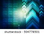 2d illustration business... | Shutterstock . vector #504778501