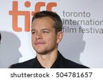 actor matt damon attends the ... | Shutterstock . vector #504781657