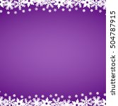 Christmas Purple Background...