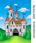 old medieval castle in... | Shutterstock . vector #50479558