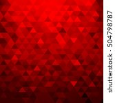 red background texture. vector... | Shutterstock .eps vector #504798787
