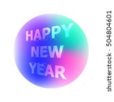 illustration congratulation... | Shutterstock . vector #504804601