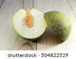 Slices Of Raw Breadfruit