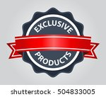high quality badge. quality... | Shutterstock .eps vector #504833005