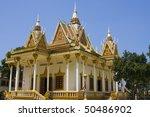 buddhist temple in cambodia   Shutterstock . vector #50486902