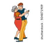 vector illustration of an... | Shutterstock .eps vector #504871909