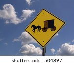 Caution Amish