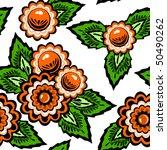 floral seamless pattern | Shutterstock .eps vector #50490262