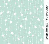 holiday background  seamless... | Shutterstock .eps vector #504910054