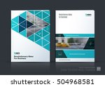 brochure template layout  cover ... | Shutterstock .eps vector #504968581