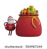 3d render  digital illustration ... | Shutterstock . vector #504987244