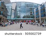 london  england   july 8  2016  ... | Shutterstock . vector #505002739