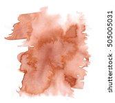abstract watercolor splash....   Shutterstock . vector #505005031