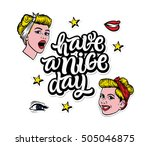 """have a nice day"".... 