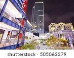 taipei  taiwan   october 23  a... | Shutterstock . vector #505063279