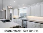 amazing new contemporary white...   Shutterstock . vector #505104841