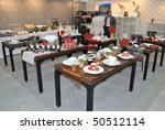 warsaw   march 26  tables... | Shutterstock . vector #50512114