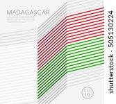 Madagascar   Modern Outlined...