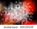 vector illustration of hexagons ...