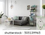 shot of a comfortable living... | Shutterstock . vector #505139965