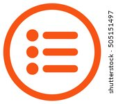 items glyph rounded icon. image ...