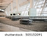 Small photo of Waiting lounge in an airport