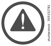 warning error glyph rounded...