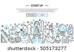 start up   illustration of... | Shutterstock .eps vector #505173277