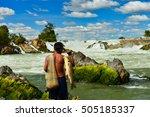 Khone Phapheng Falls And...