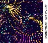 abstract vector background dot...   Shutterstock .eps vector #505197829