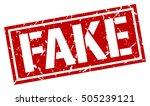 fake. grunge vintage fake... | Shutterstock .eps vector #505239121