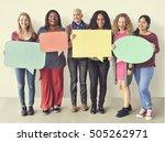 girls friendship togetherness... | Shutterstock . vector #505262971