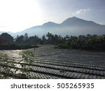 volcano batur  bali | Shutterstock . vector #505265935