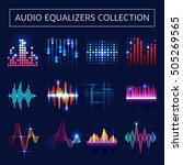 Bright Audio Equalizer Neon Se...