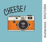 vector illustration of a retro... | Shutterstock .eps vector #505272304