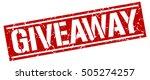 giveaway. grunge vintage... | Shutterstock .eps vector #505274257