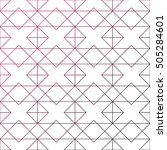 geometric background with... | Shutterstock .eps vector #505284601