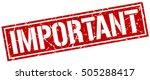 important. grunge vintage... | Shutterstock .eps vector #505288417
