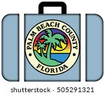 flag of palm beach county ...   Shutterstock . vector #505291321