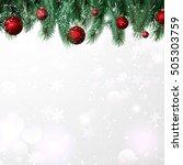 the frame from festive... | Shutterstock .eps vector #505303759