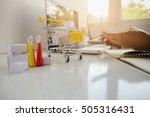 internet online shopping... | Shutterstock . vector #505316431